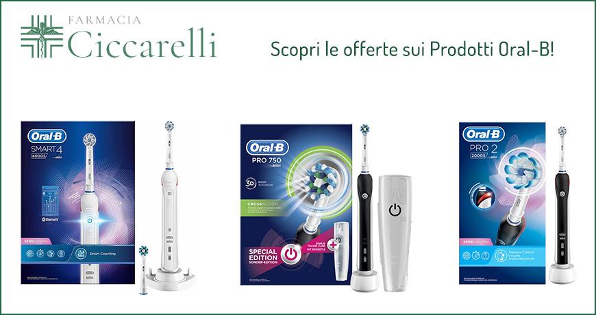 Vieni a scoprire in Farmacia le offerte sui prodotti Oral-B